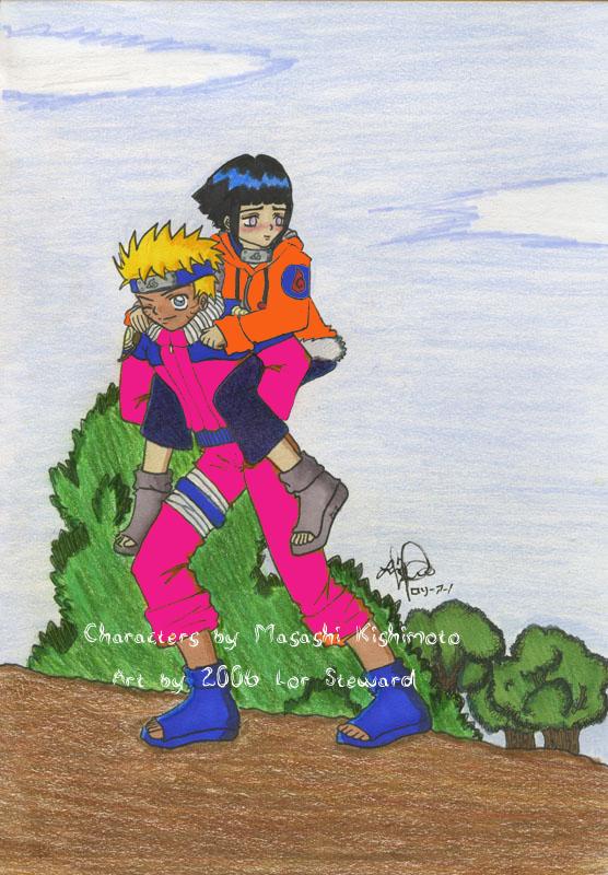 Naruto and Hinata New Outfits