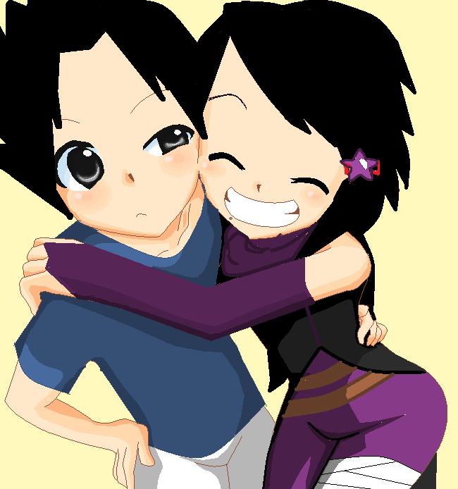 Sasuke and OC