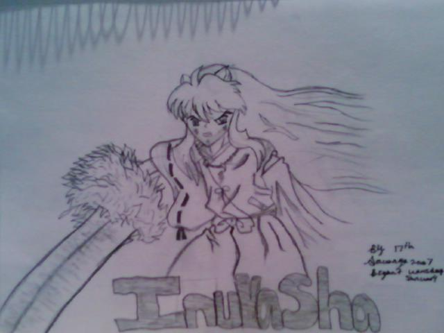 InuYasha with his sword