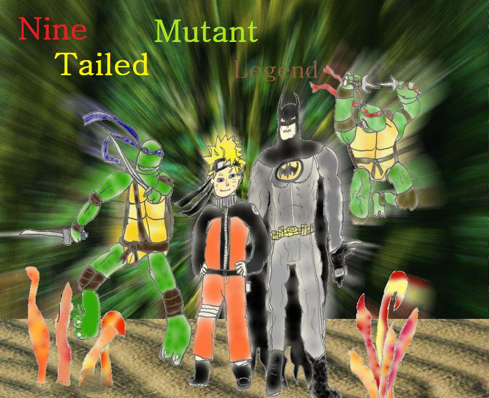 Nine Tailed Mutant Legend Cover