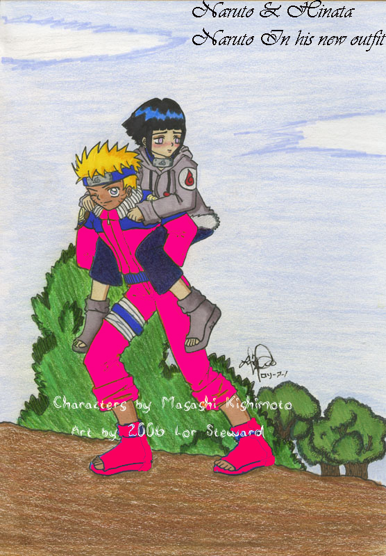Naruto's New Outfit