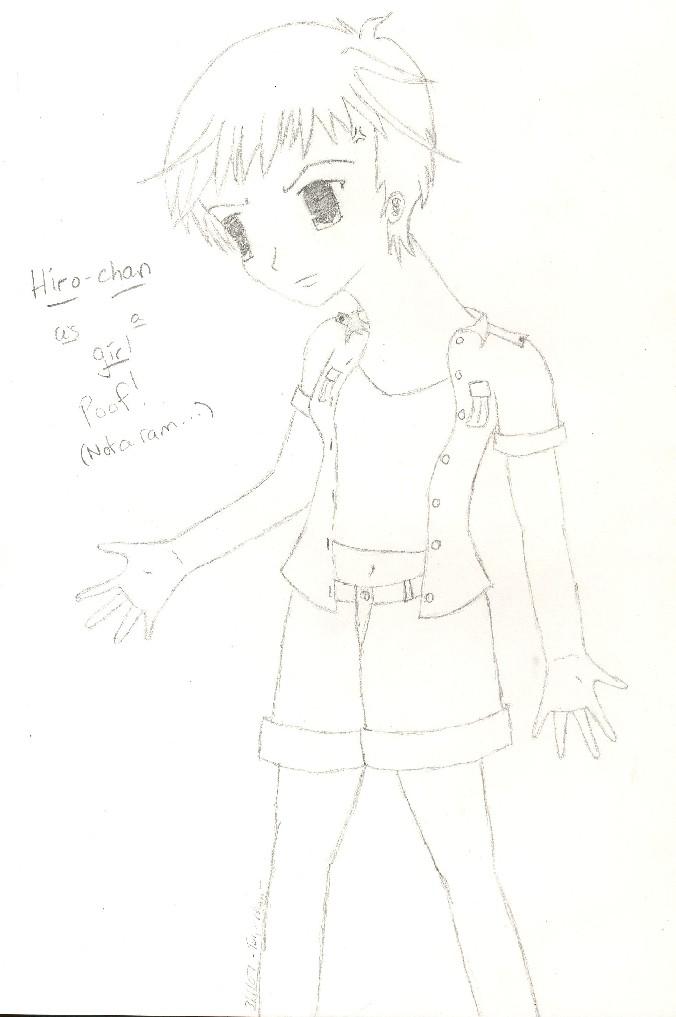 Hiro as a girl