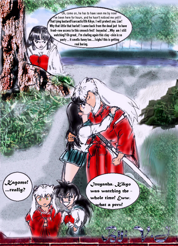 Inuyasha+Kagome (The kiss) 2011
