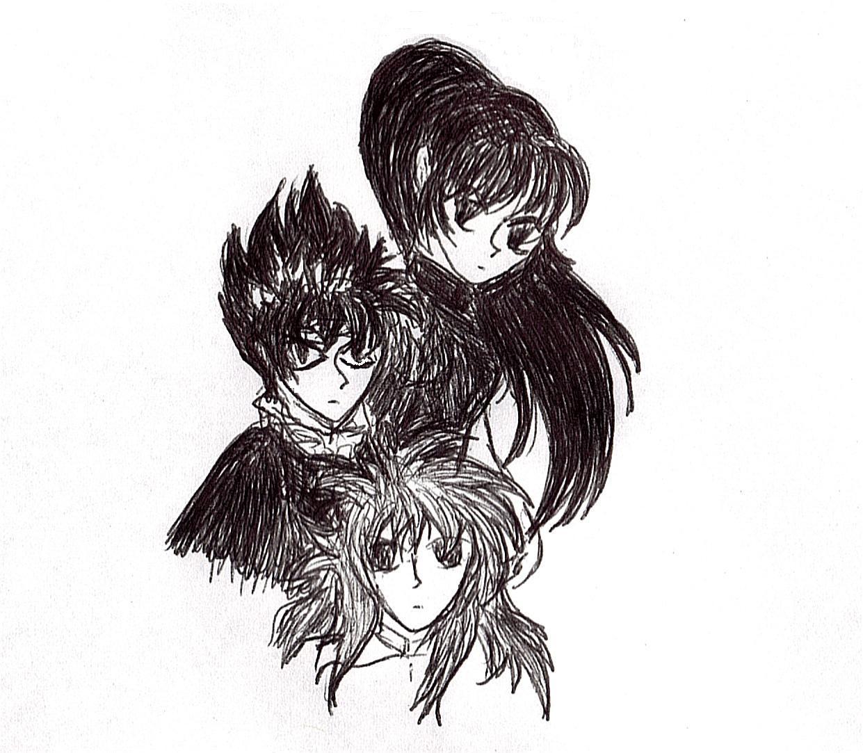 The Heart Within (Sango, Hiei and Kurama)