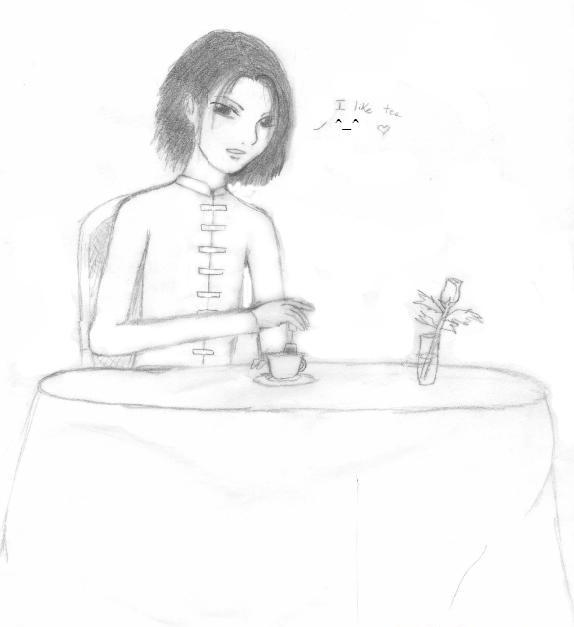 Teatime with Wufei