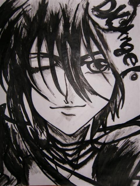 """"""" Dark """" -ink"""