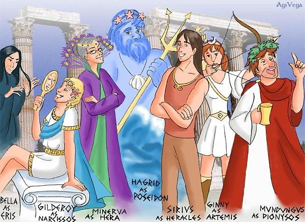 Potter Cast Conquer Olympus II