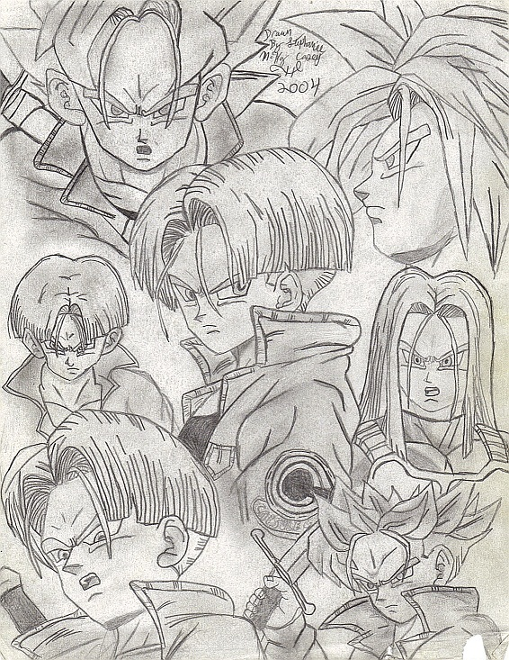 Trunks collage