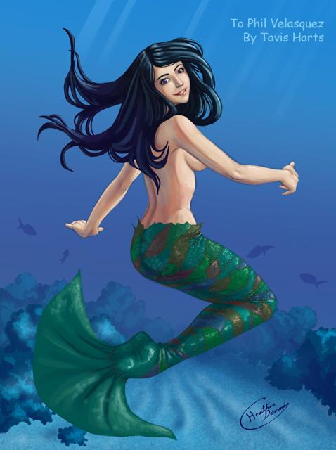 The patchwork mermaid