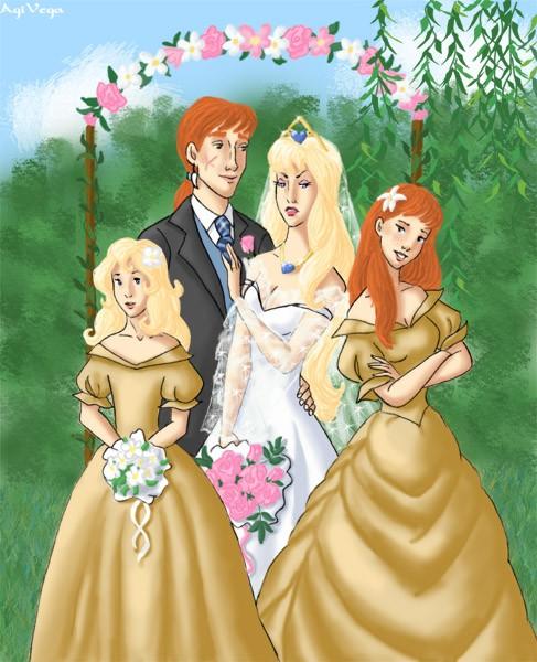 When the bridesmaid outshines the bride
