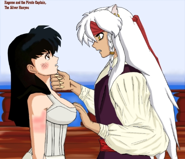Kagome and the Pirate Cpt.