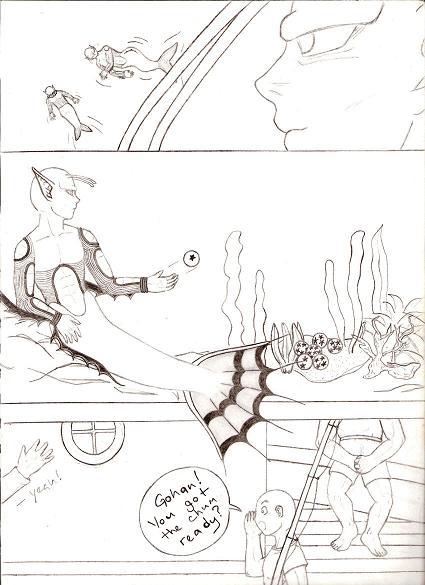 Fishing For Piccolo Doujinshi - Page 7