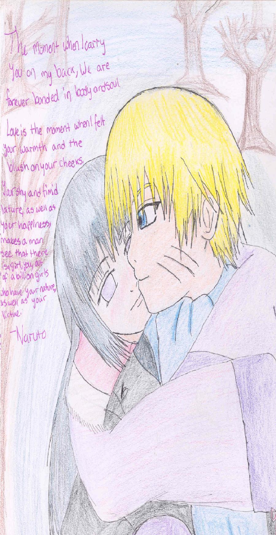 Naruto and Hinata Winter Warmth