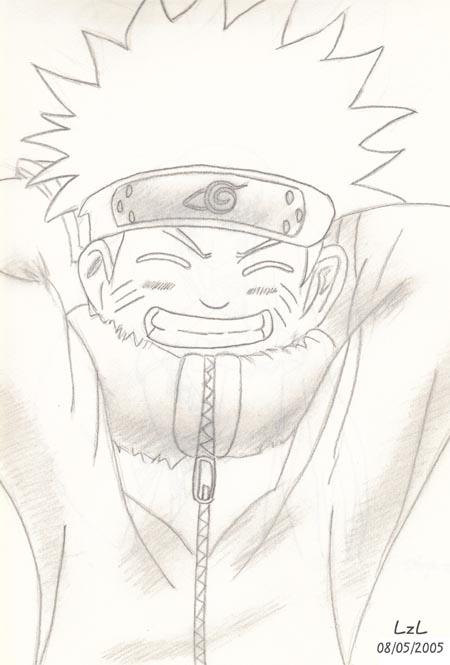 Naruto Pencil Sketch