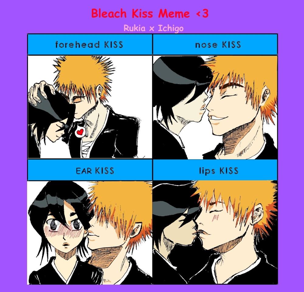 Bleach Kiss Meme