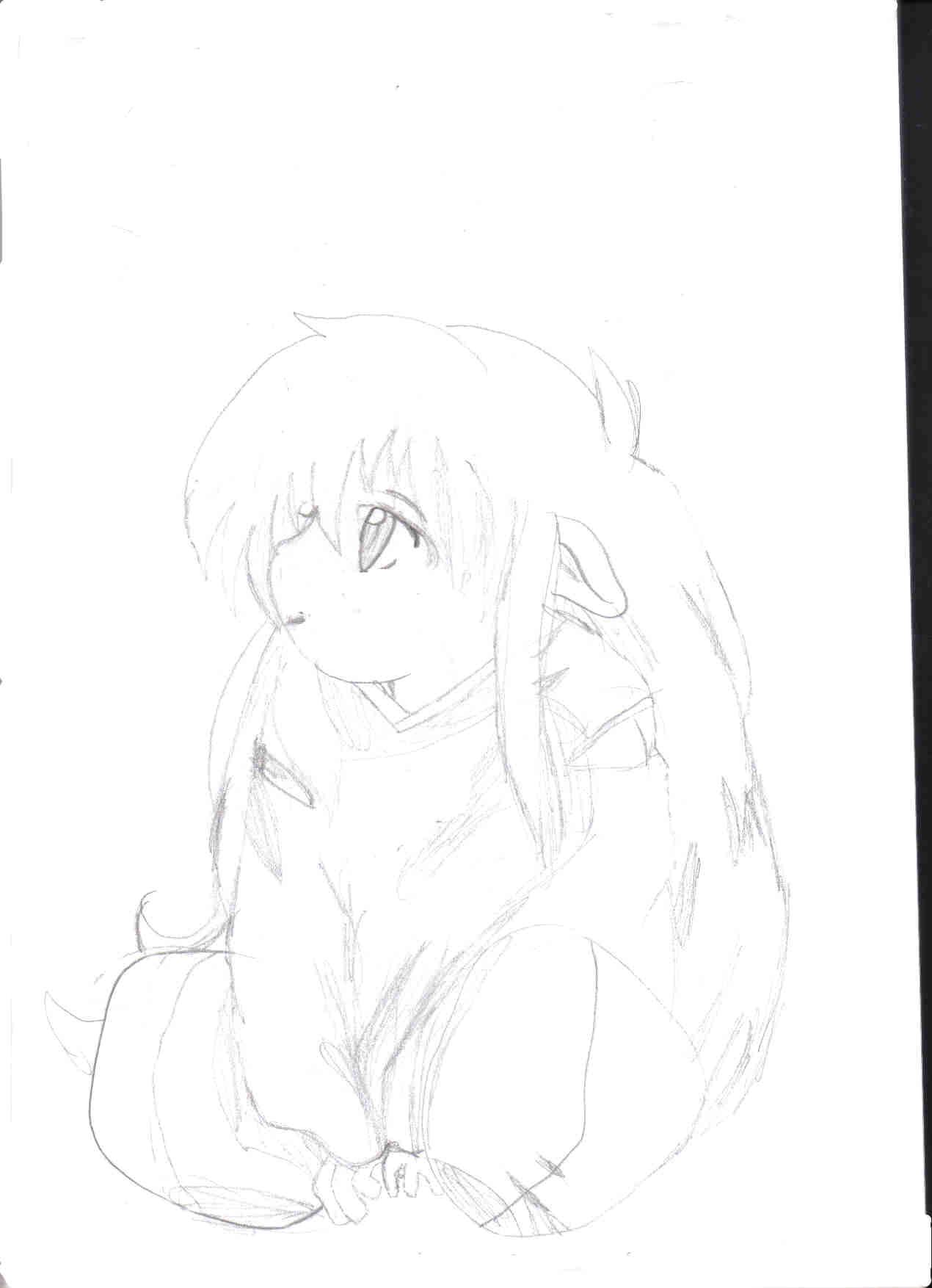 Inuyasha Rough Sketch