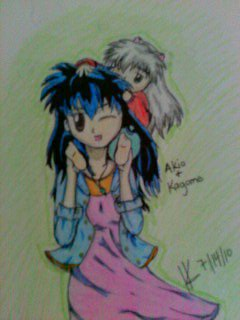 Kagome and Akio