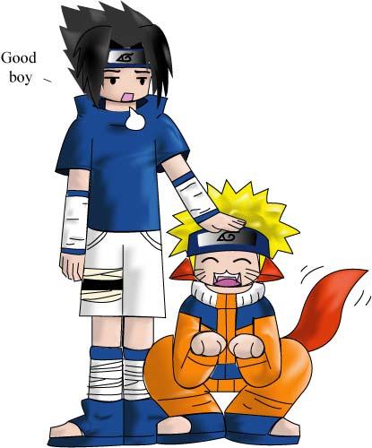 Sasuke's Pet Colored